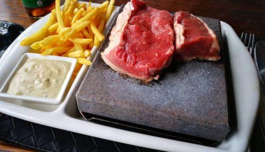 【バヌアツで牛肉を石焼】The stonegrill restaurantに行ってきた!
