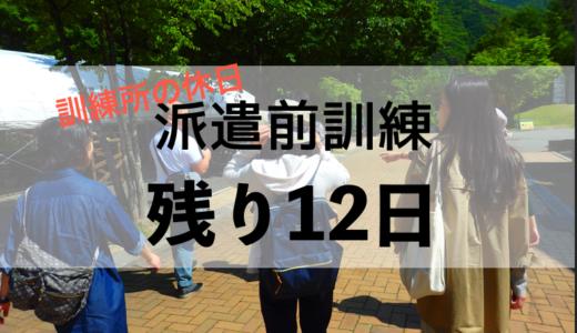 残り12日(6月2日) 駒ヶ根訓練所の休日