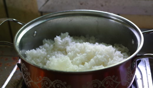 炊飯器不要!鍋を使った米の炊き方