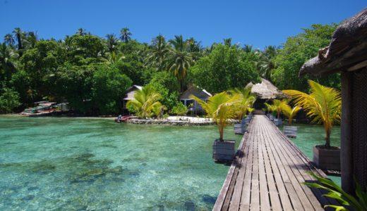 ソロモン諸島の美しい海